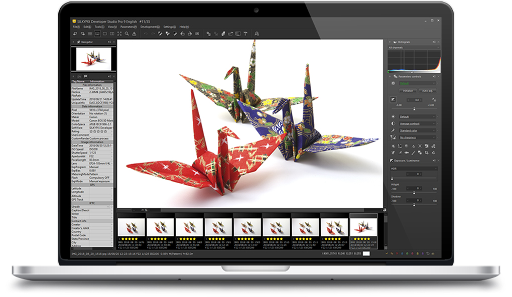 SILKYPIX Developer Studio PRO full screenshot