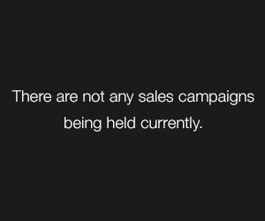 There are not any sales campaigns being held currently.