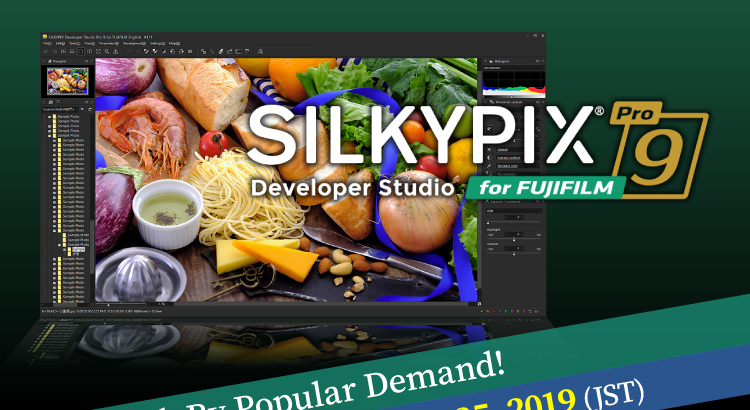 SILKYPIX - RAW development software -