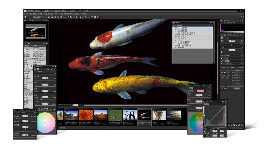 SILKYPIX Developer Studio PRO for Mac OS X full screenshot