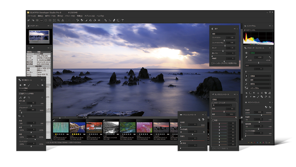 Silkypix developer studio pro8 for panasonic.