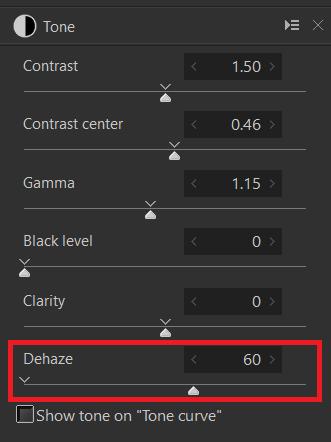 Dehaze Example 3-2 ctrl