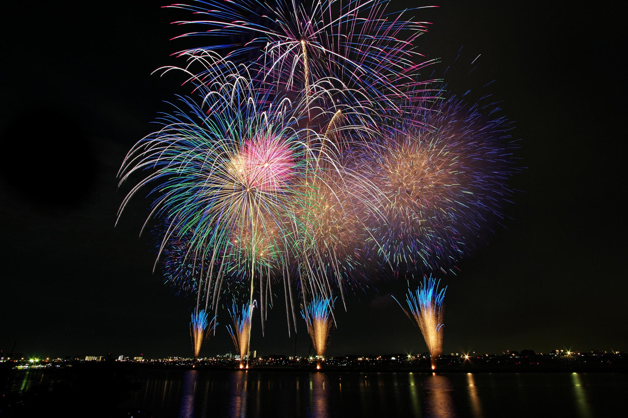 fireworks 1-4