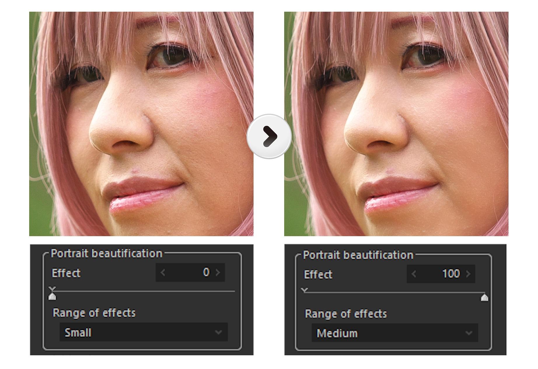 Portrait beautification_2