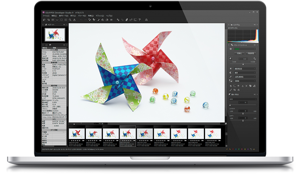 SILKYPIX Developer Studio 9(Windows/macOS)