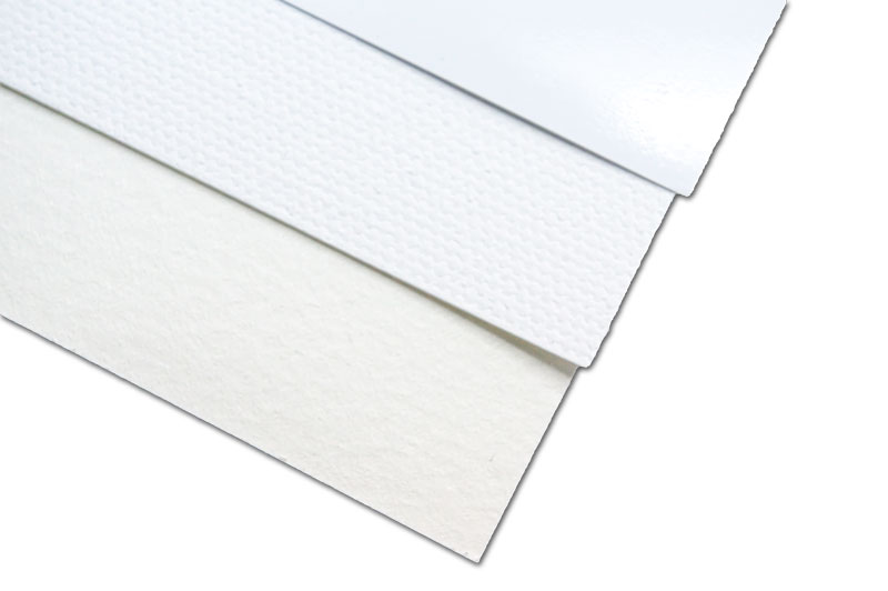 用紙の表面は色々
