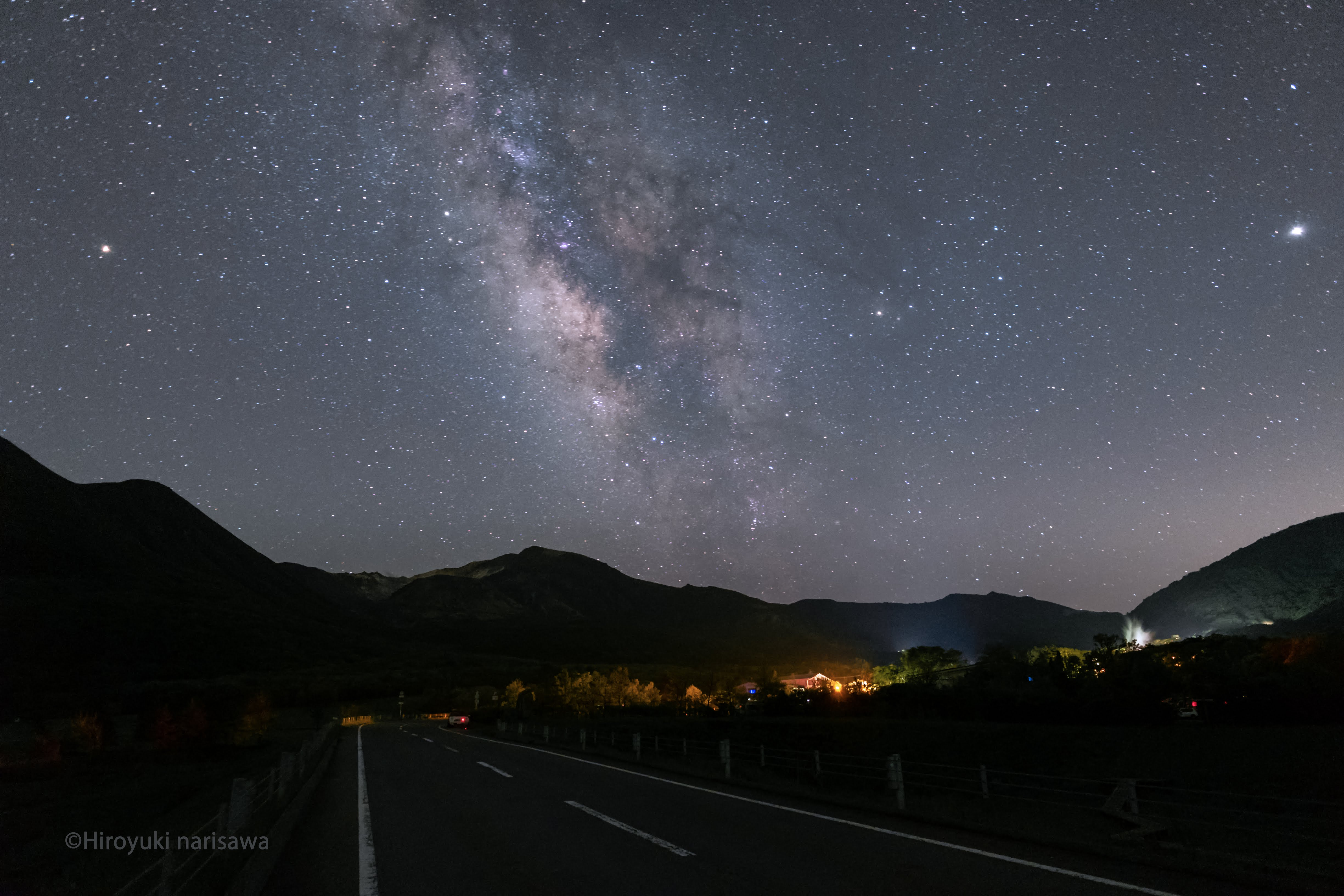 星景写真RAW現像