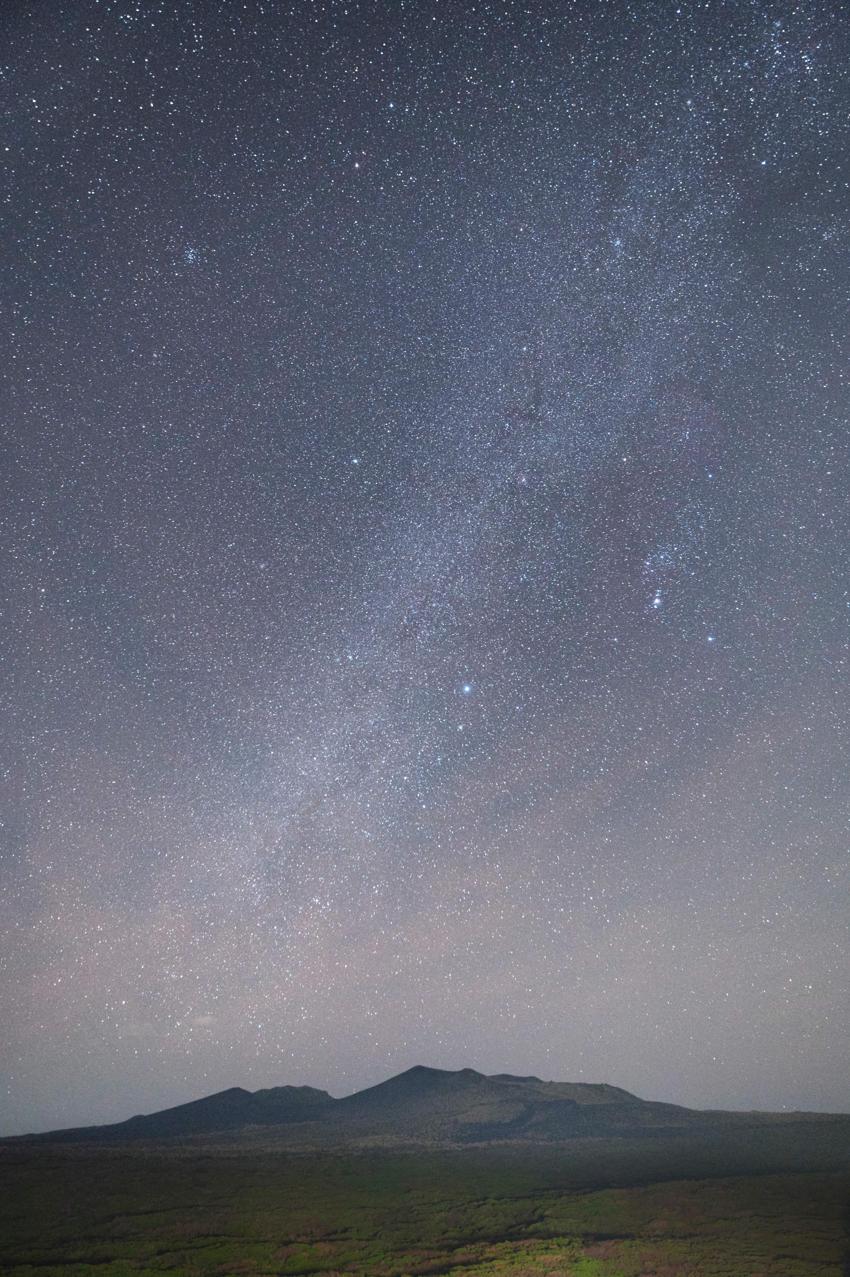星景写真 天の川